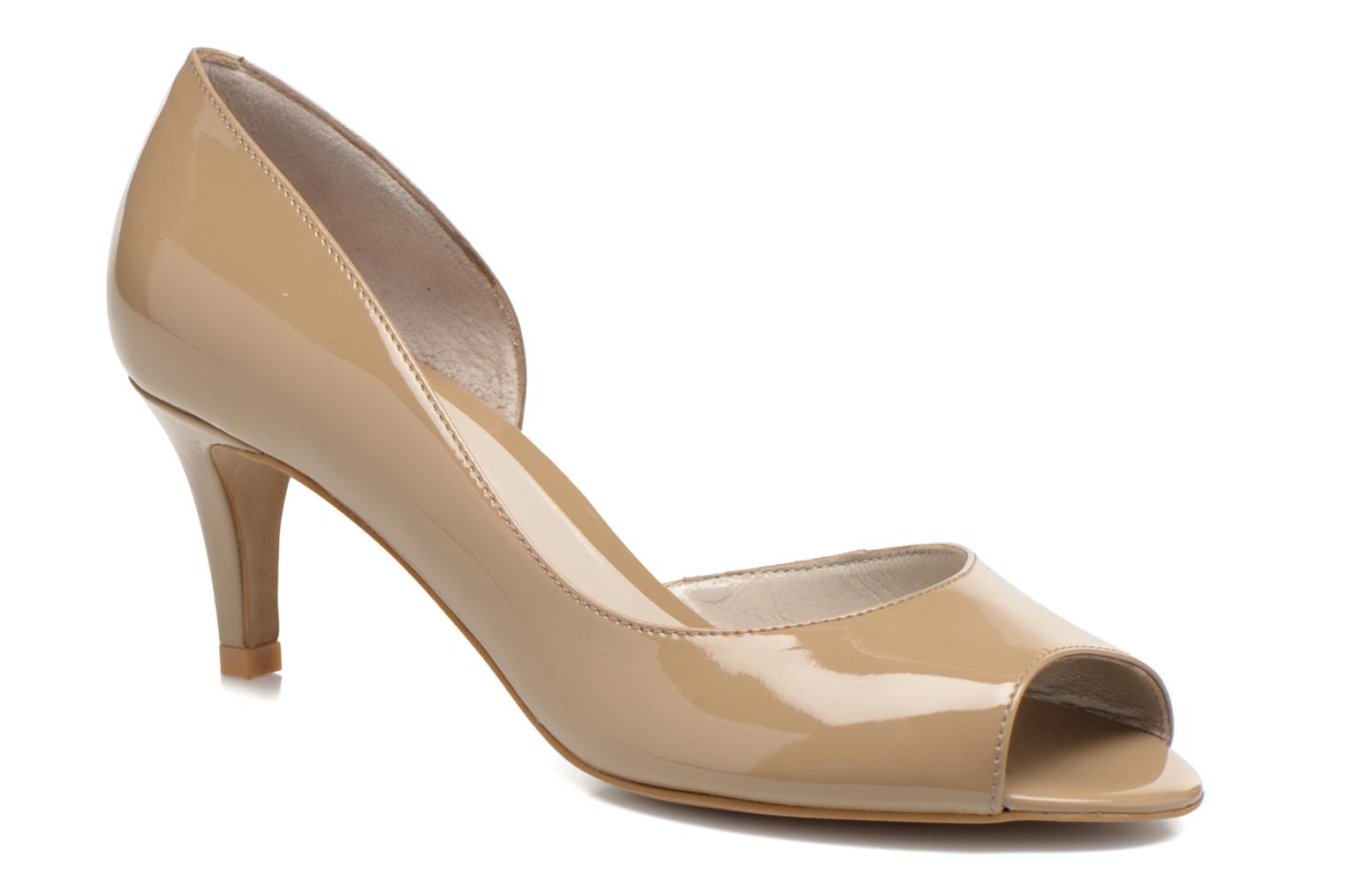 High heels Perlato Bilbao Beige detailed view/ Pair view
